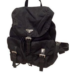 Authentic Prada backpack 11x9x5
